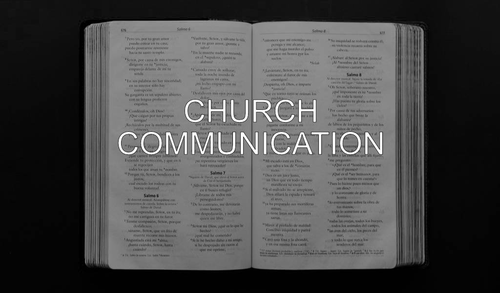 Church Communication: Cheap Email Communication